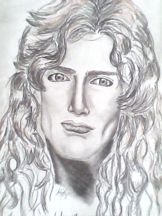 Dave Mustaine by keiilapeppers